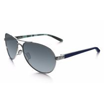 Lentes Oakley Feedback Polarized Azul Mujer Aviador Original
