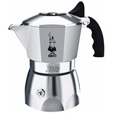 Cafetera Italiana Bialetti 07008 Brikka Espresso 2 Cups