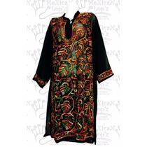 Blusa Elegante Bordada Transparente Colores Varios