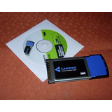 Tarjeta Pcmcia Wireless Wpc54gs Linksys - Giltrevi