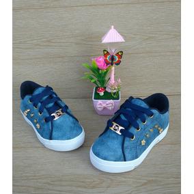 Zapato Tenis Moda Niña Color Azul Calzado Infantil Colombia.   66.458 f452b2ec33b3