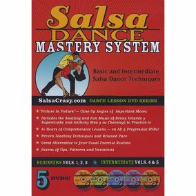 Aprende A Bailar Salsa 5 Dvd Importados