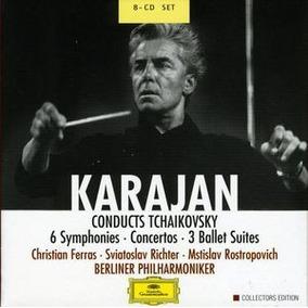 Tchaikovsky - Conducciones De Karajan - Colección 8 Cds