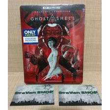 Ghost In The Shell Steelbook 4k Blu Ray Película