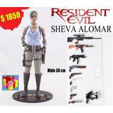 Resident Evil 5. Sheva Alomar. 30 Cm. Crazy Toys. Excelente!