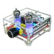Kit P/armar Preamplificador Valvular De Audio + Gabinete