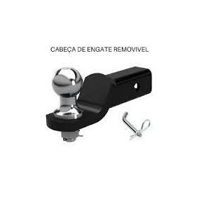 Cabeça Removível De Engate Reboque C/ Bola Pino Trava