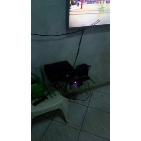 Xbox 360 Desbloqueado E Com 15 Jogos Na Memoria