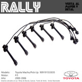 Cable Bujias Toyota Macho/pick Up 6cil Mot 4.5 24val (02-06)