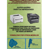 Toner Brother Tn410 Tn420 Tn450 Listo Para Usar Reciclados