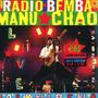 Manu Chao Radio Bemba Baionarena Vinilo Triple 3 Lp +2 Cd