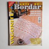 Revista Arte De Bordar Vagonite Panos De Prato Jogos De Cama