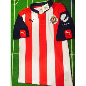 Jersey De Las Chivas Del Guadalajara 2017 Original