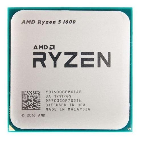 Procesador AMD Ryzen 5 1600 YD1600BBAEBOX 6 núcleos 68.7 GB