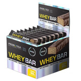 Whey Bar - Cx 24 Barras - Probiótica - Banana