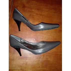 Mary & Joe : Zapatos Stilettos Taco Alto Grises T.36!!!