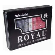 Cartas Poker Royal Original Estuche 100% Plastificada Juego