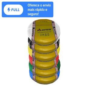 150m Kit Cabos Flexíveis 2,5mm Em 2 Ou 3 Rolos Cor Diferente