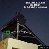 Terma Solar De 150 Litros, Importado Sun Earth, Guía Instala