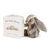 Jellycat Magic Bunny Board Book Y Woodland Bunny, Mediano -