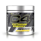 Kit 1 C4 Extreme + Glutamina Now 1000mg + Mellatinina On 3mg