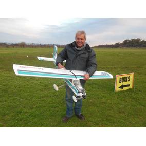 Avion Entrenador Mastertrainer Para Motor 40 Glow