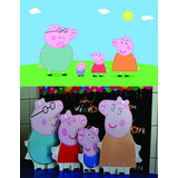 Kit Peppa Pig 8 Pçs + Painel Pp02 2x1,50 Envo 48hs