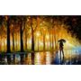 Bewitched Park - Pintura Al Óleo Del Maestro Leonid Afremov