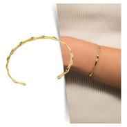 Bracelete Ceci - Dourado