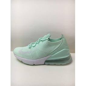 Zapatillas Nike Airmax 270 Flyknit Verdes!! Originales!!