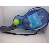 Kit Tenis Com 2 Raquetes + Bolinha Colors Promoção Azul