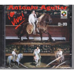 Antonio Aguilar En Vivo / Cd + Dvd