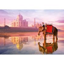 Rompecabezas 1000 Pzas Elefante En El Taj Mahal Marca Educa