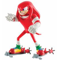 Boneco Sonic Boom - Knuckles Figura De Vinil Articulada
