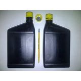 Envase Para Aceite De Motor 1 Litro Con Tapa Negra