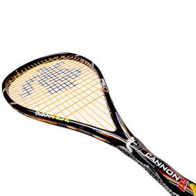 Raqueta De Squash Cannon Ps Castagnet Black Knight