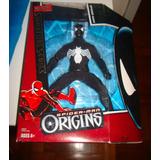 Homem Aranha Uniforme Negro Mego Retro Boneco Mattel Toy Biz
