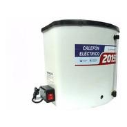 Calefon Electrico Mir Plastico 20 Litros Con Tecla On/off