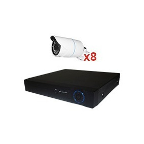 Cctv Kit Secucore Ip Plc 720p 8 Camaras De 1mp
