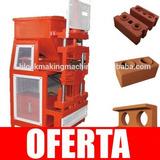 Kit Construye Maquina Hidráulica Para Ladrillos 2 Huecos 37