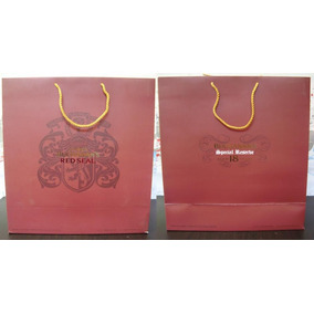 Buchanans 18 + Red Seal Bolsa De Regalo Mediana * Changoosx