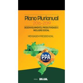 Plano Plurianual 20162019 Ppa Serviço Social Envio Grats Pdf