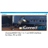 Interfaz Midi Iconnectmidi1