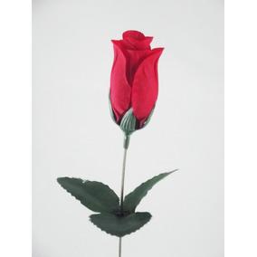 Brind 50 Rosas Artificiais Vermelhas - Flores Artificial