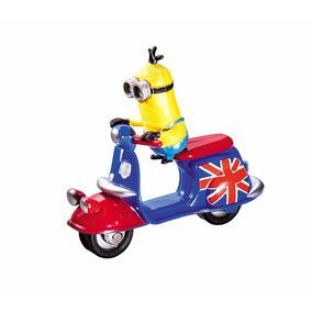 Minions Vehiculos Moto + Figura - Jugueteria Aplausos