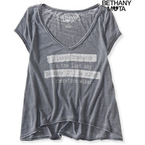 Blusa Aeropostale # G - Playera / Camista -corte High/low