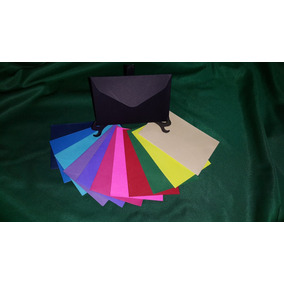 Envelope 72 X 108 Mm Coloridos - 100 Unidades