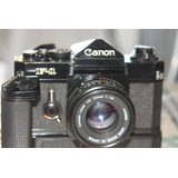Canon F1 Old Totalmente Mecanica, Co 50mm 1.1.8