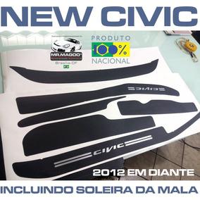 Soleiras Super Protetoras New Civic 2012 2013 2014 2015 2016