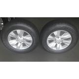 Rodas Toyota Hilux Srv 17 + Pneus Bridgestone 2656517